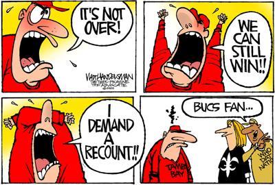Walt Handelsman: Big Win!