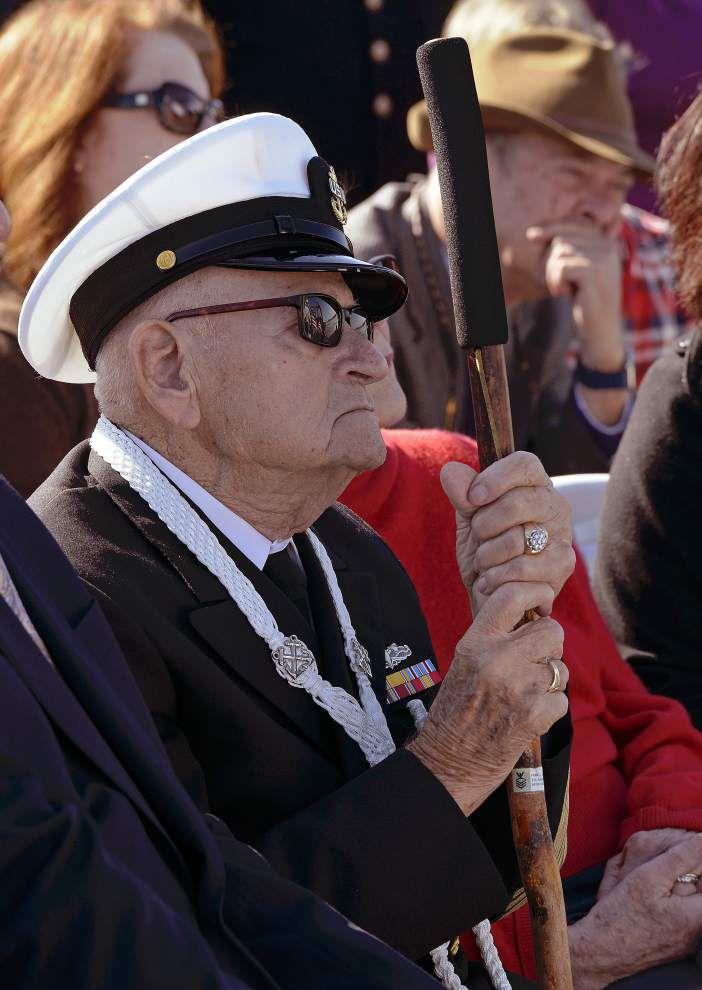 Poignant Baton Rouge ceremonies mark two Dec. 7 tragedies: Pearl Harbor attack, White Alder sinking _lowres