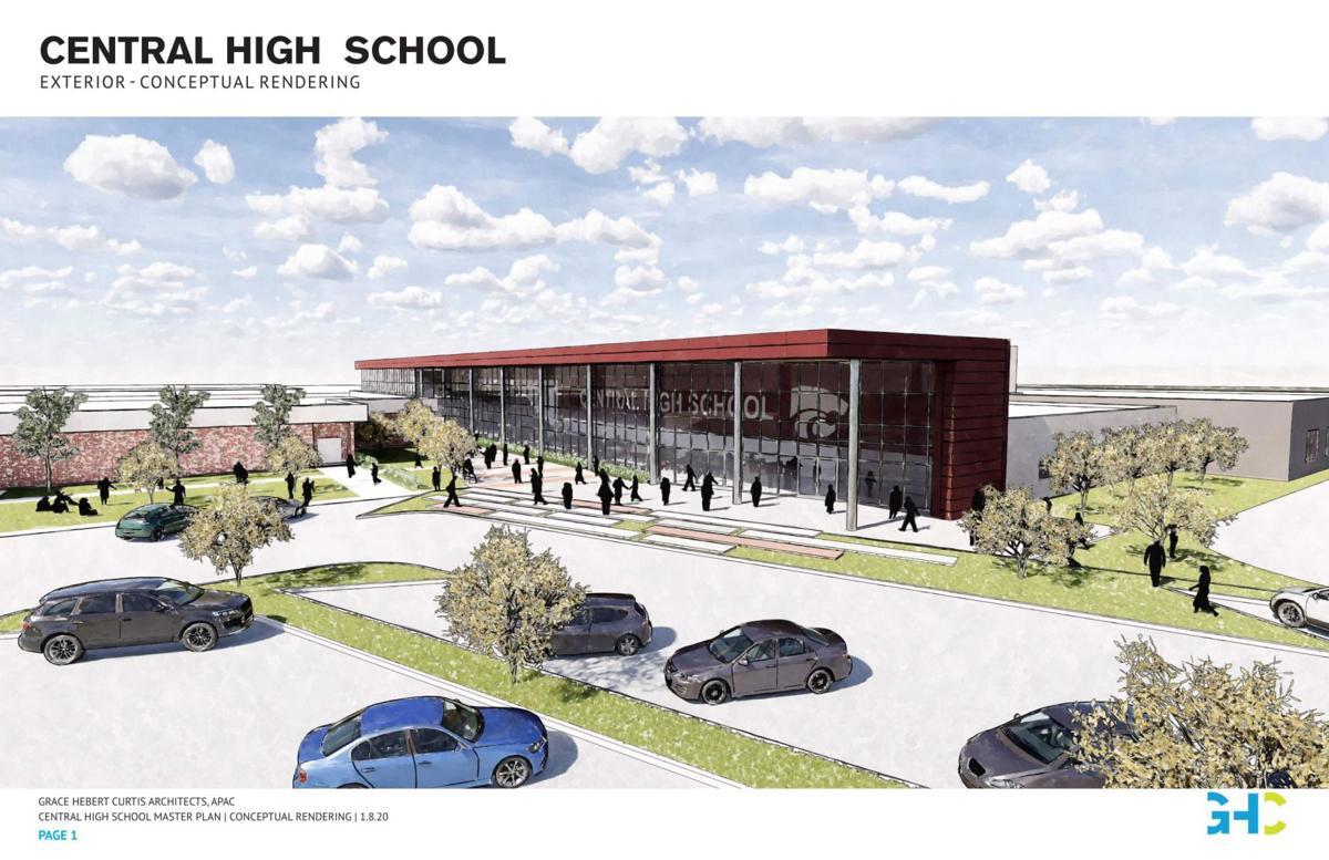 Central High School Conceptual Renderings