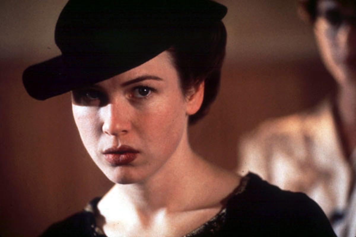 Renee Zellweger in 'The Whole Wide World' copy for Red