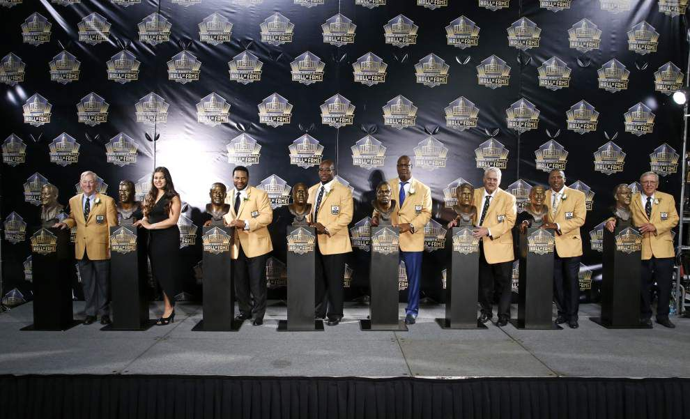 Jerome Bettis leads eclectic Hall of Fame class _lowres