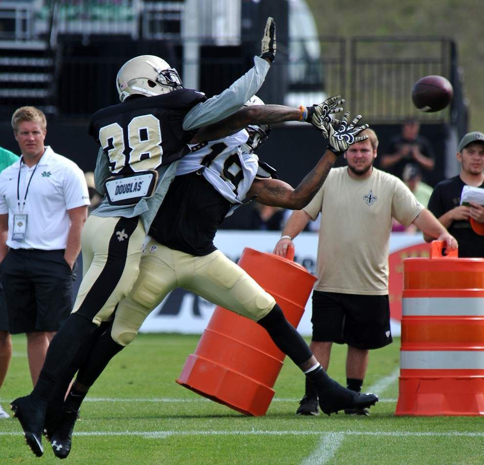 Saints rookie cornerback Damian Swann gets a chance to prove his worth _lowres