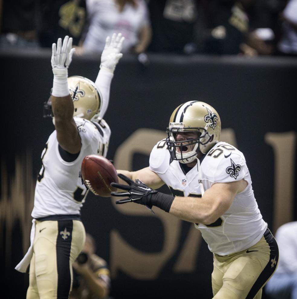 Ted Lewis: Saints handled short week well to defeat Falcons _lowres