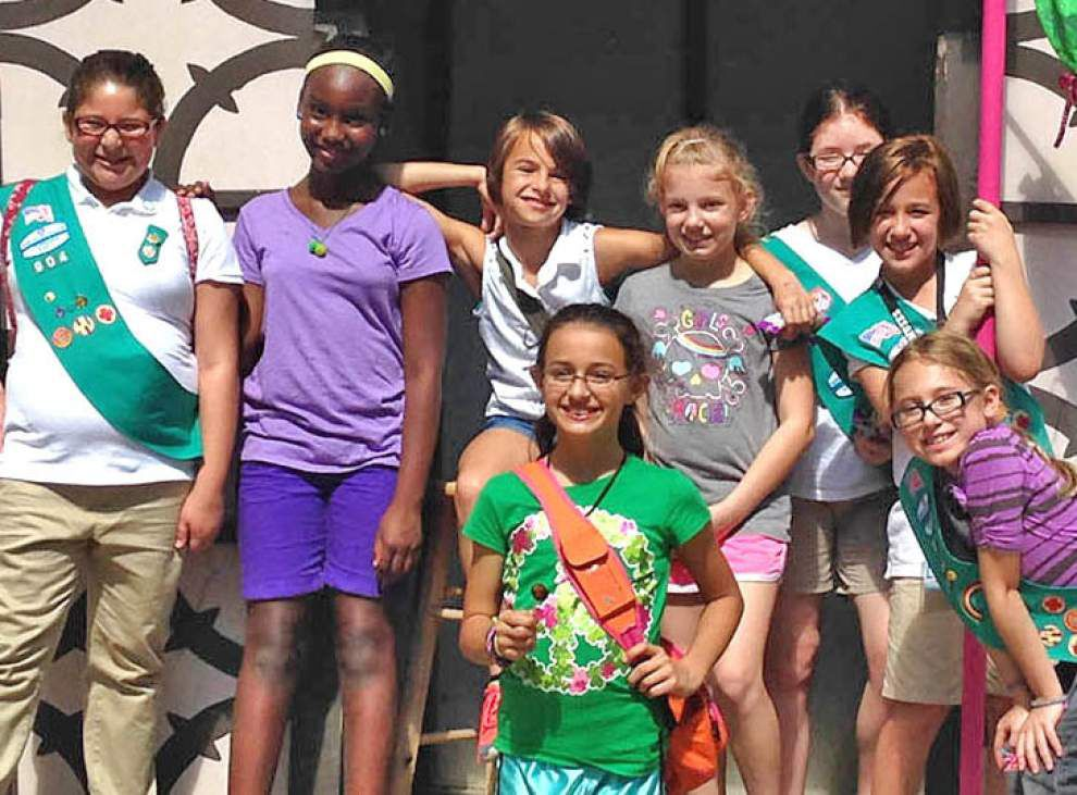 Jefferson Parish Girl Scouts recognized for service projects _lowres