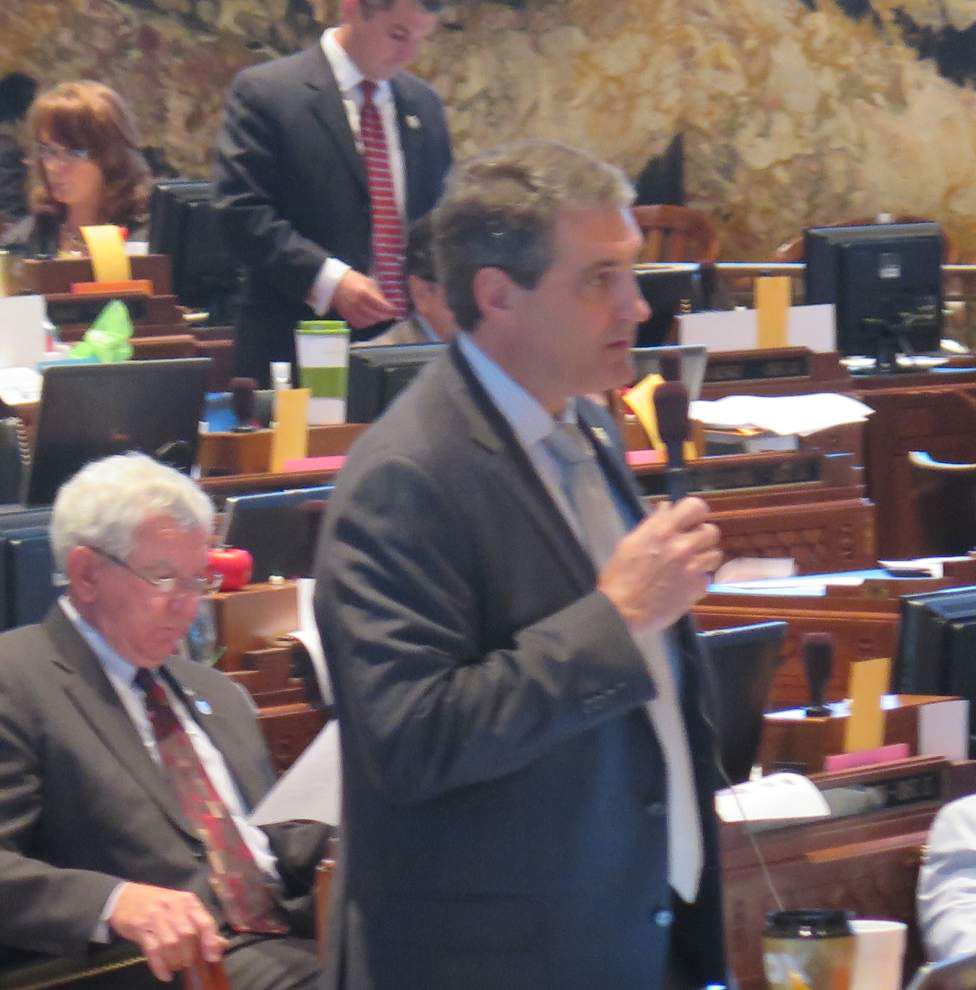 St. George vote bill dangled, then withdrawn _lowres