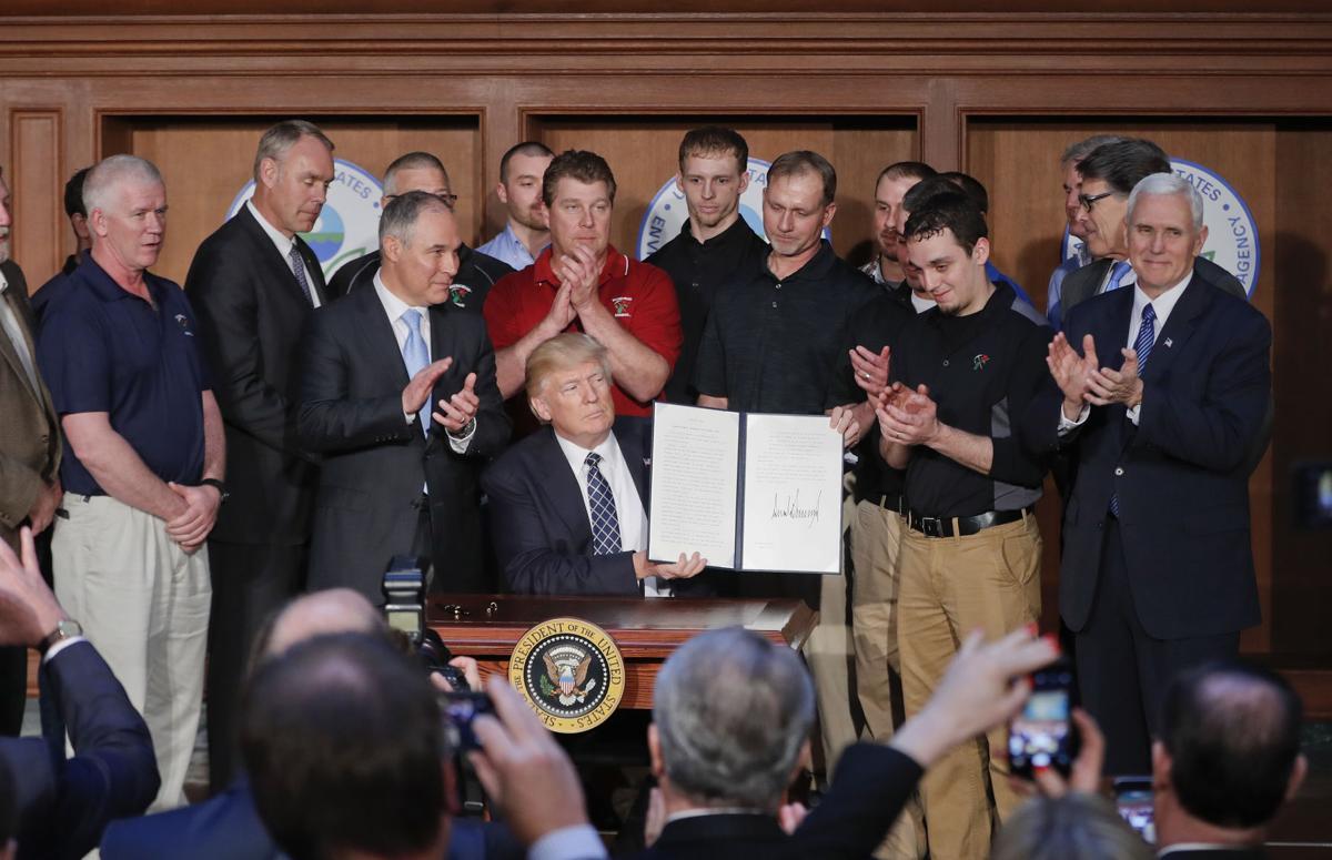 Neil Gorsuch, Donald Trump, Scott Pruitt, Mike Pence