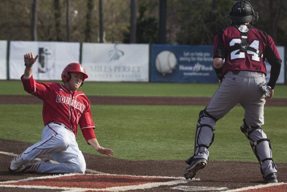 Notebook: Cajuns played simulated games after rain-outs _lowres