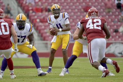 LSU Arkanasas Football