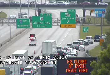 Baton Rouge traffic headaches: All I-12 lanes reopened after