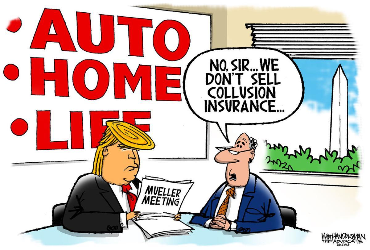 Walt Handelsman: Insurance Coverage