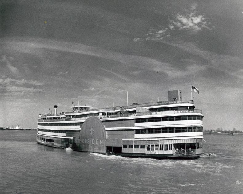 Jazz Fest once had shows on a steamboat; Pete Fountain, B.B. King, Tina Turner were among performers