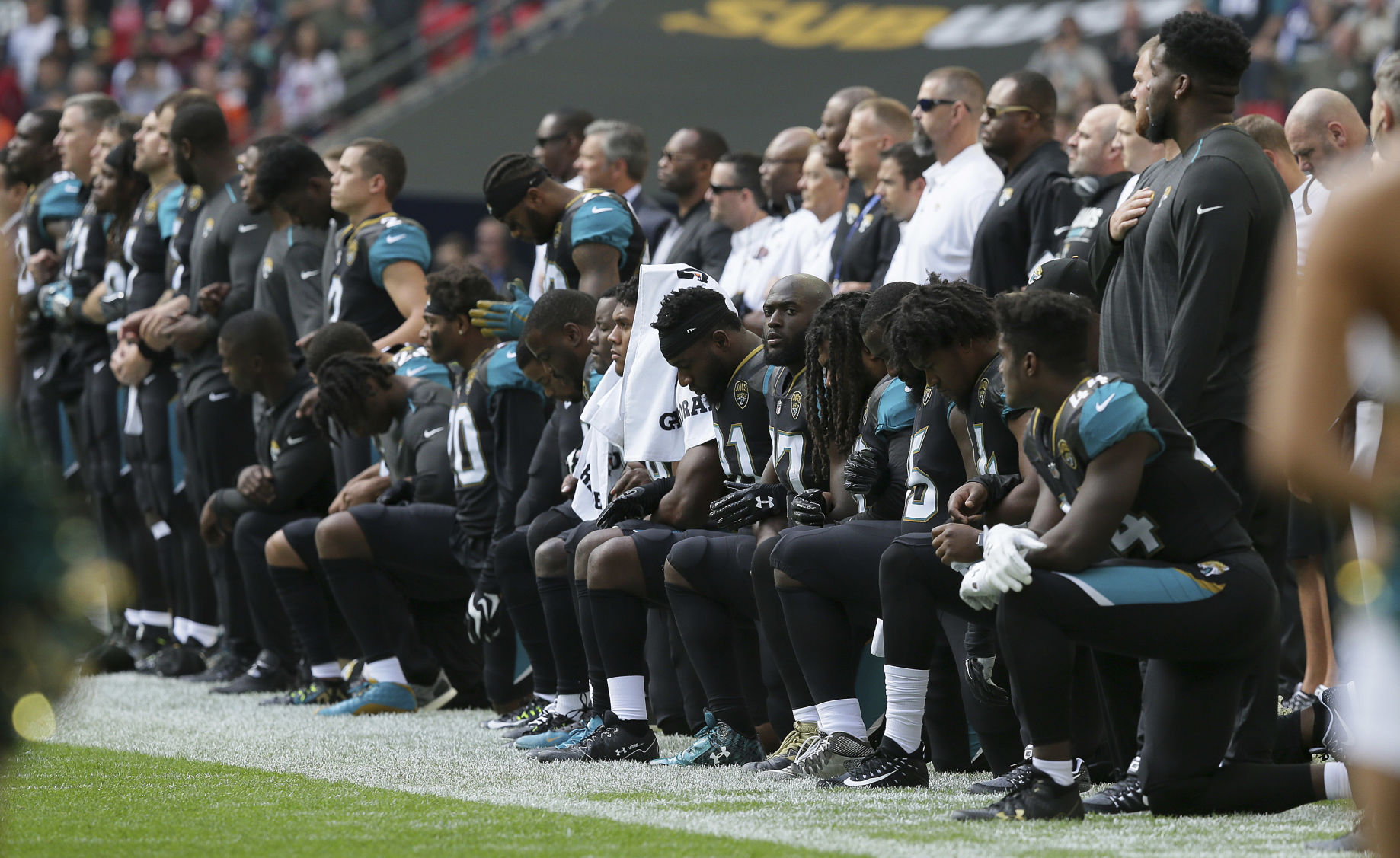 Jaguars Owner Shad Khan Issues Statement After Joining Team Protest