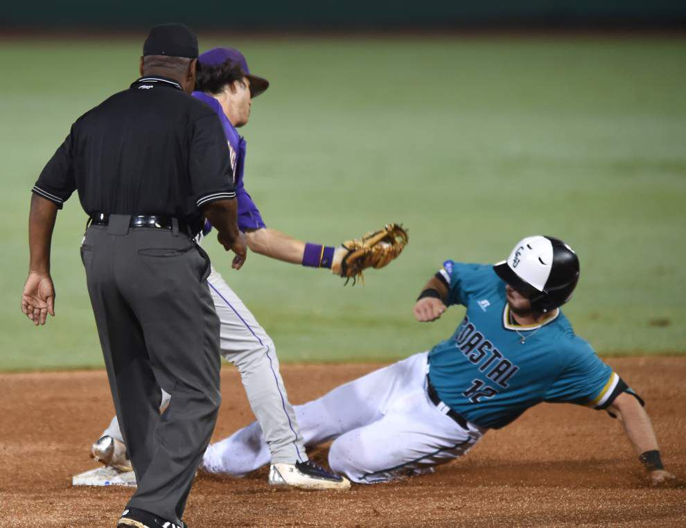Gallery: Coastal Carolina baseball ends LSU's season in 4-3 thriller _lowres