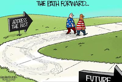 Walt Handelsman: Path Forward
