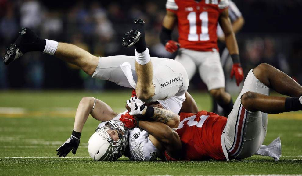 Three and out from the College Football Playoff national championship _lowres