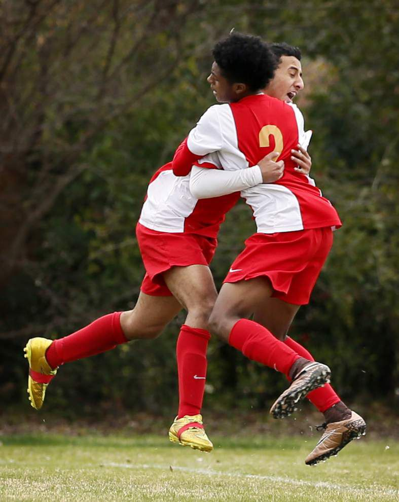 Ben Franklin advances past Cox in boys soccer playoffs; Holy Cross next _lowres