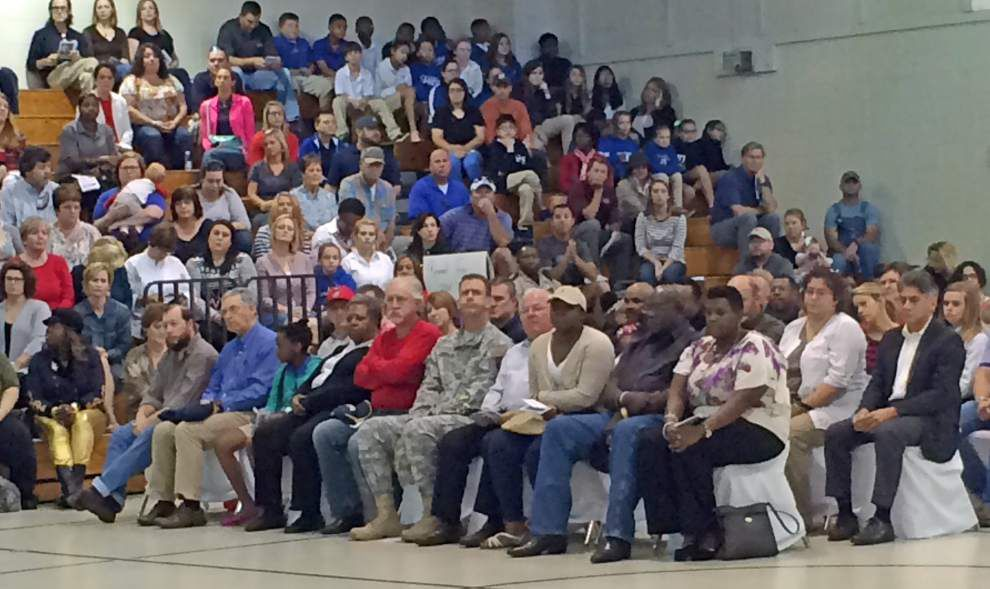 West Feliciana Middle School honors Vessel _lowres