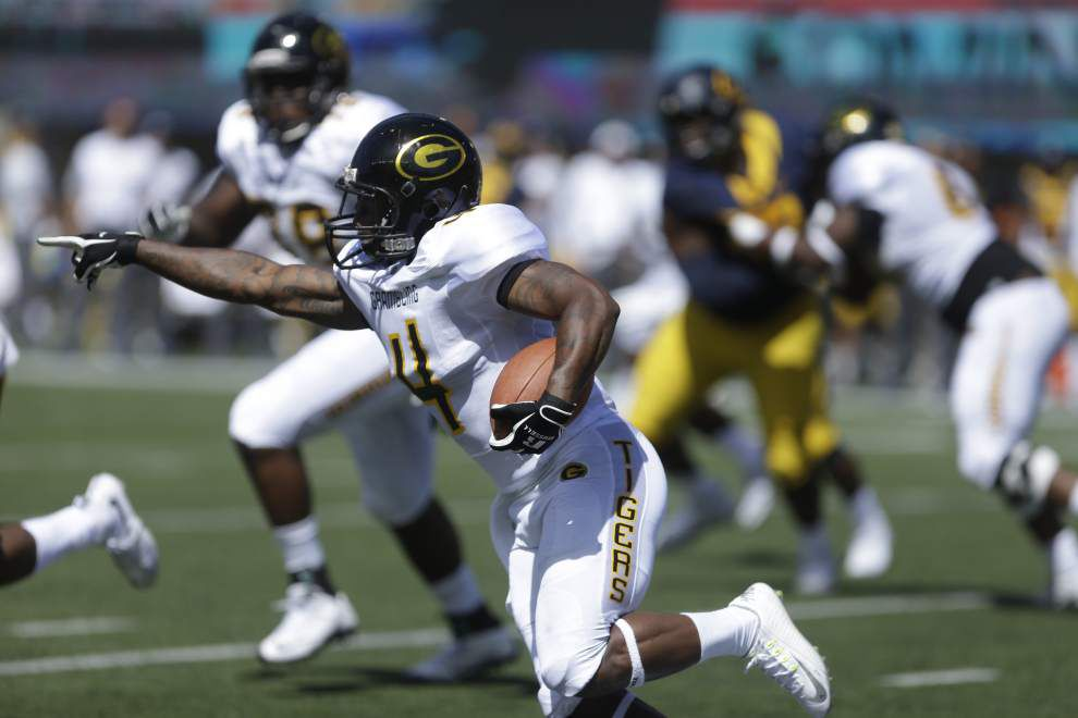Grambling looking for right balance on offense _lowres