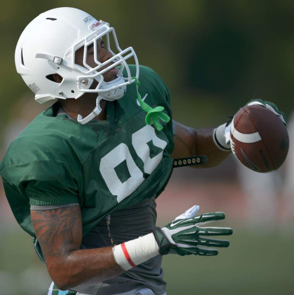 Some Tulane position battles starting to clear _lowres