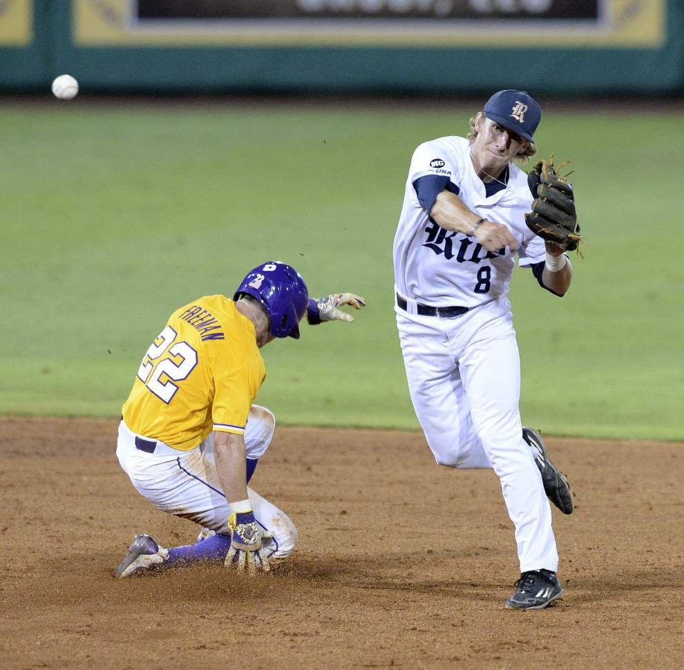 Photos: Big crowd, big plays, but LSU falls to Rice in ...