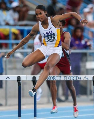 NCAA East preliminary track and field meet: LSU Tigers, Lady Tigers rack up national qualifiers _lowres