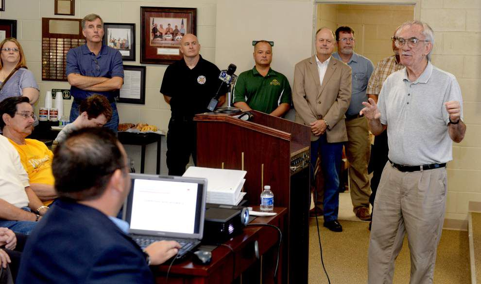Military-grade chemical detection system to help Pointe Coupee deal with possible disasters, chemical releases _lowres