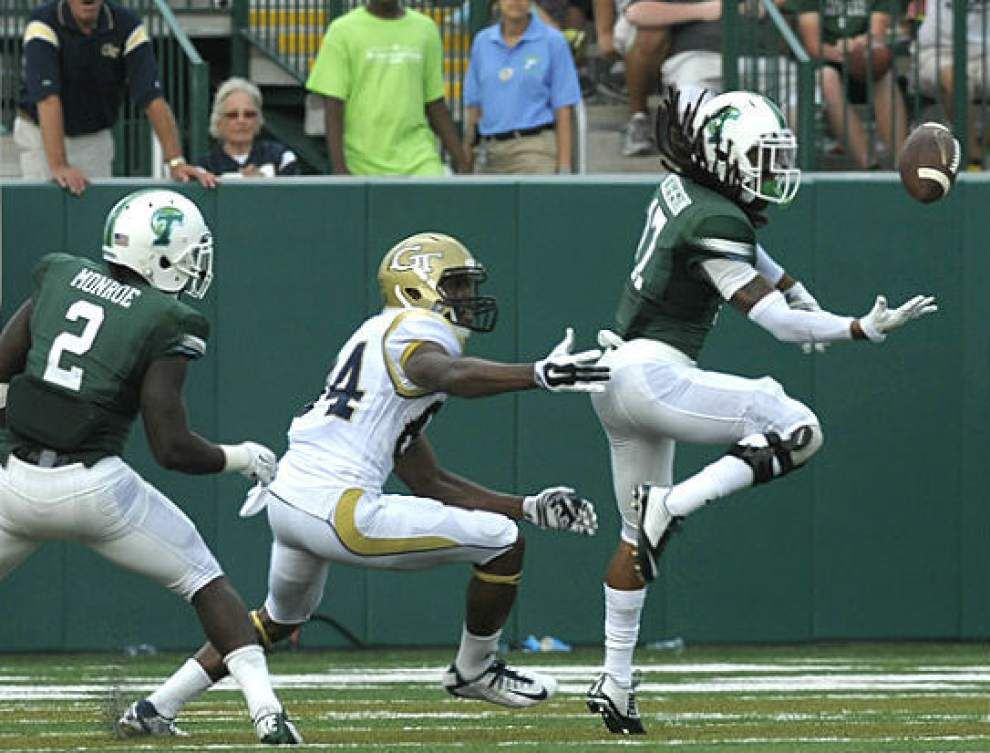 Tulane's Parry Nickerson back and better than ever _lowres