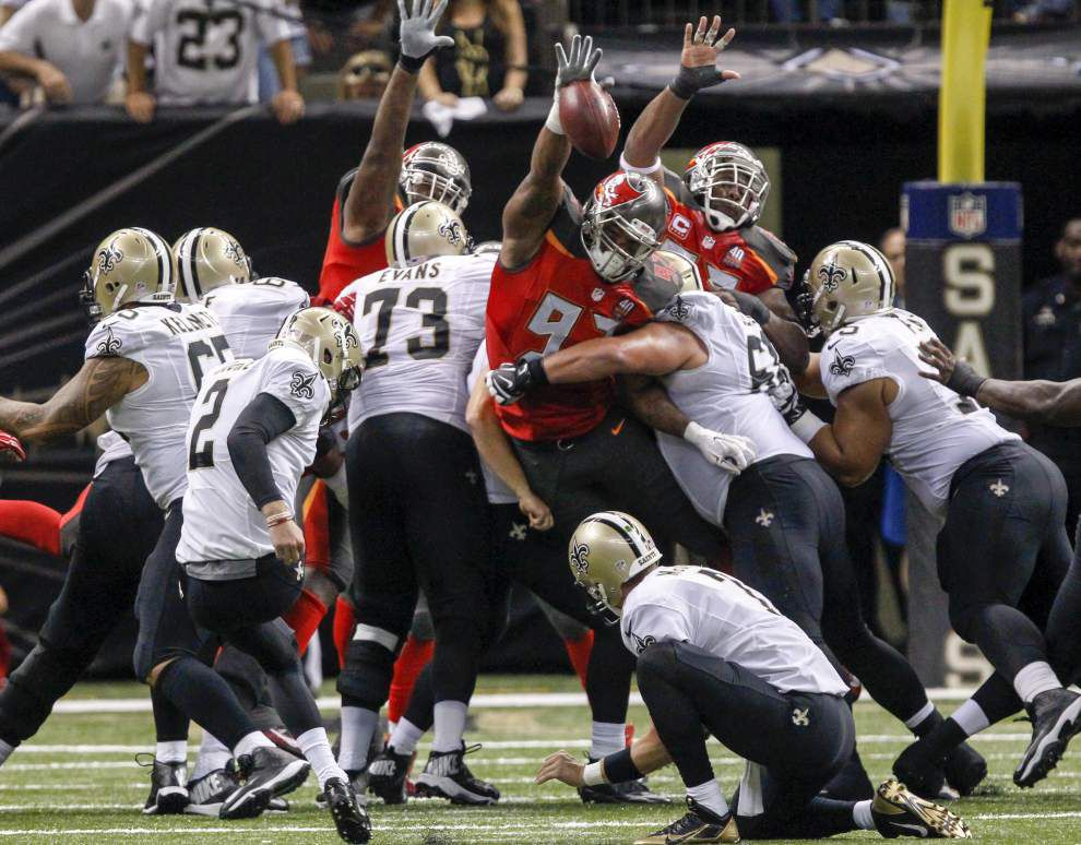 Special teams miscues compound Saints' rough day _lowres
