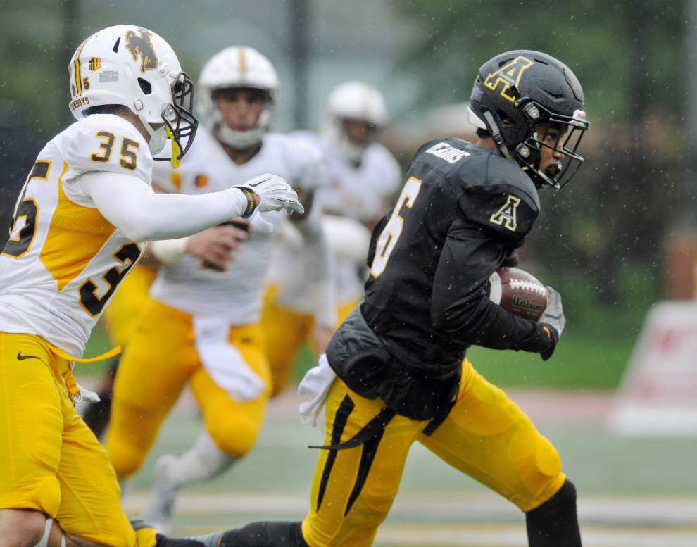 Cajuns notebook: Appalachian State is one weird road trip _lowres