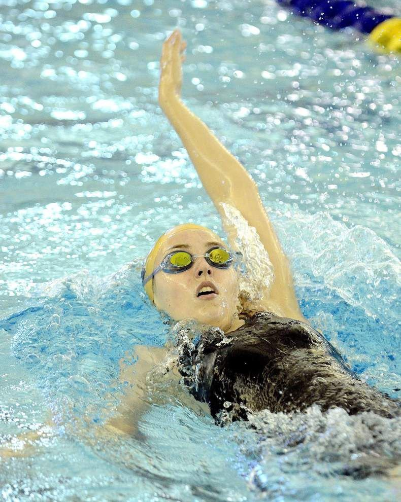 State swim meet get underway Wednesday in Sulphur _lowres
