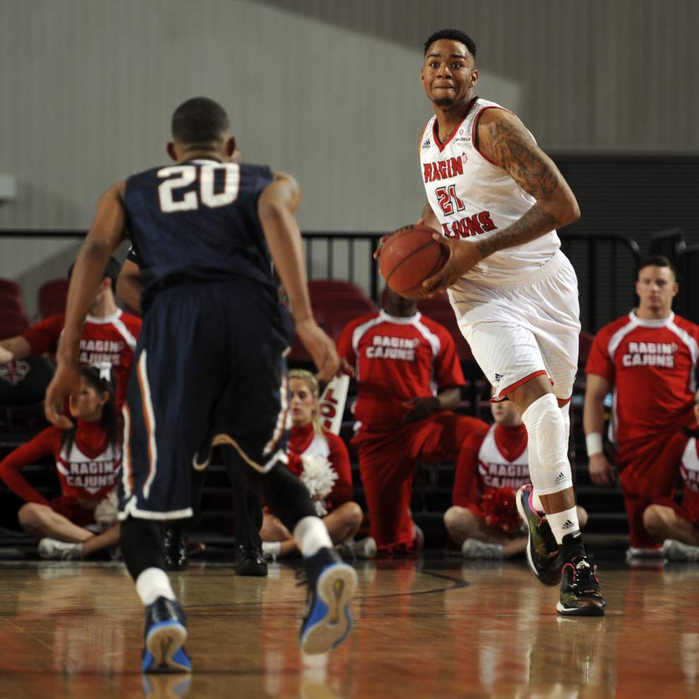 UL-Lafayette men's basketball returns to routine _lowres