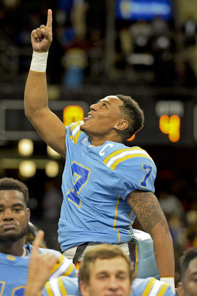 Lewis: This win can't make up for their loss, but Southern's Dray Joseph and Austin Howard can smile today _lowres