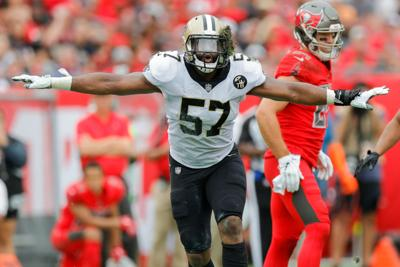 c1e36e358 Saints DE Alex Okafor relishing chance to be part of something special in  playoff run