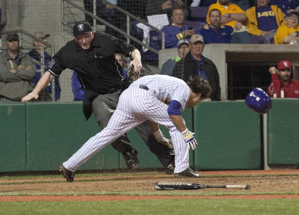 LSU notes: Mainieri to stick with lineup, Robertson _lowres