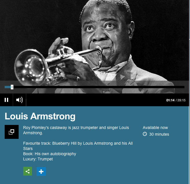 Listen: BBC discovered a 1968 interview with Louis Armstrong_lowres