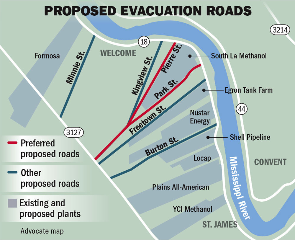 120918 St. James Evacuation routes.jpg