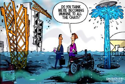 Walt Handelsman: Chaos