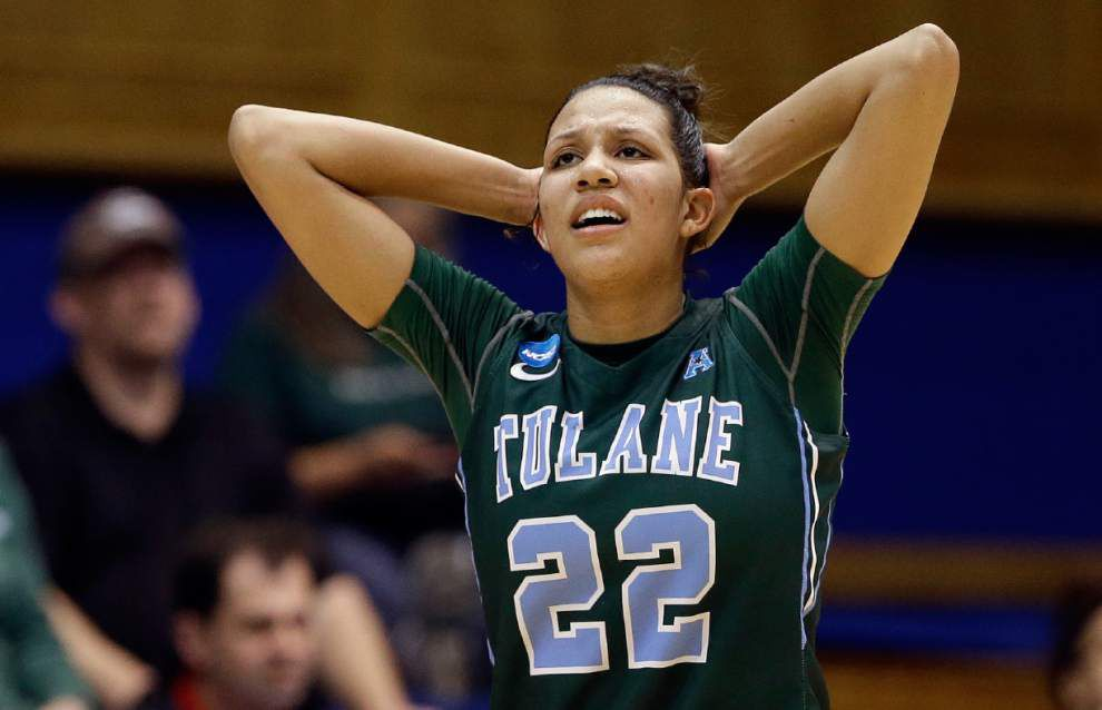 Tulane loses to Mississippi State 57-47 in first round of the NCAA women's basketball tournament _lowres