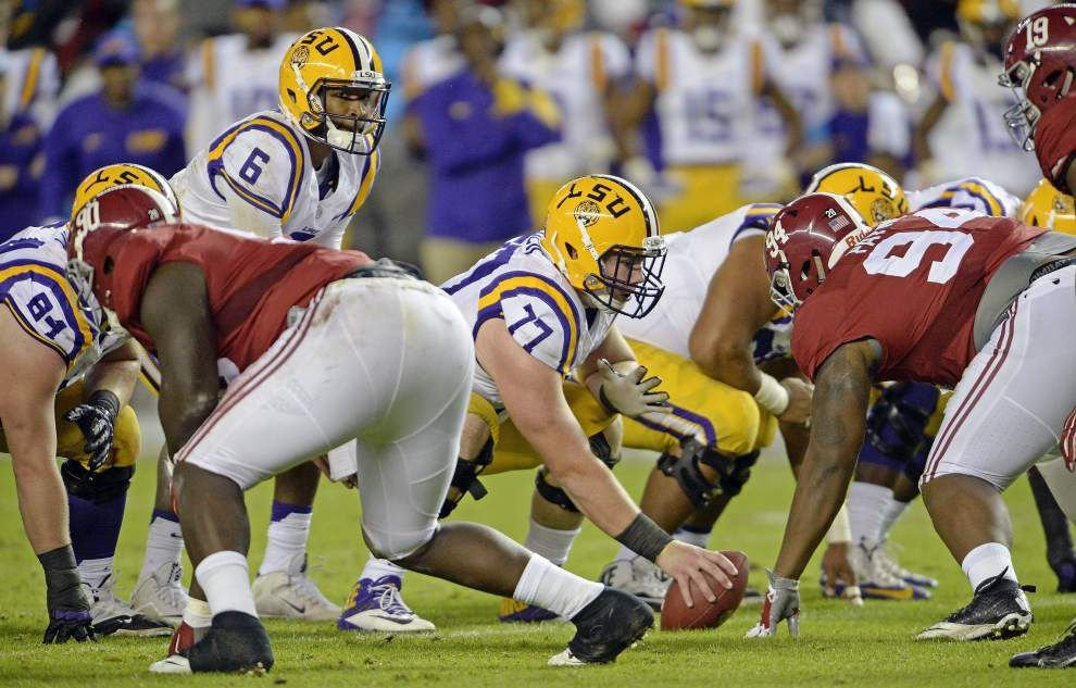 Photos: LSU falls to Alabama 30-16 in SEC showdown of the year _lowres