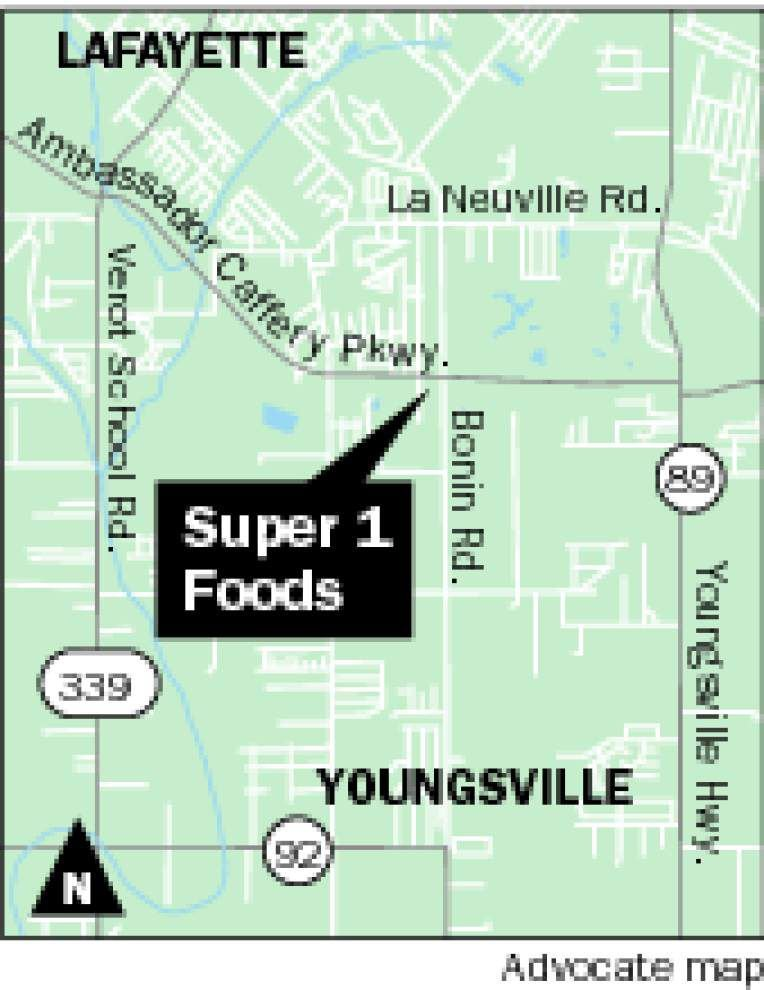 Super 1 Foods store planned for Youngsville at corner of Ambassador Caffery Parkway and Bonin Road _lowres