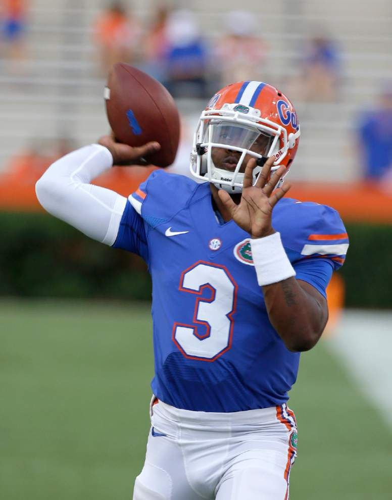 Florida QB Treon Harris faces sexual assault allegation _lowres