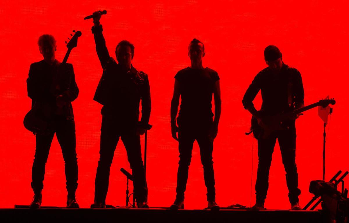 The Edge, Bono, Larry Mullen Jr., Adam Clayton