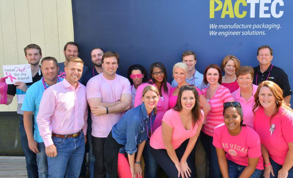 Clinton business wears pink for awareness _lowres