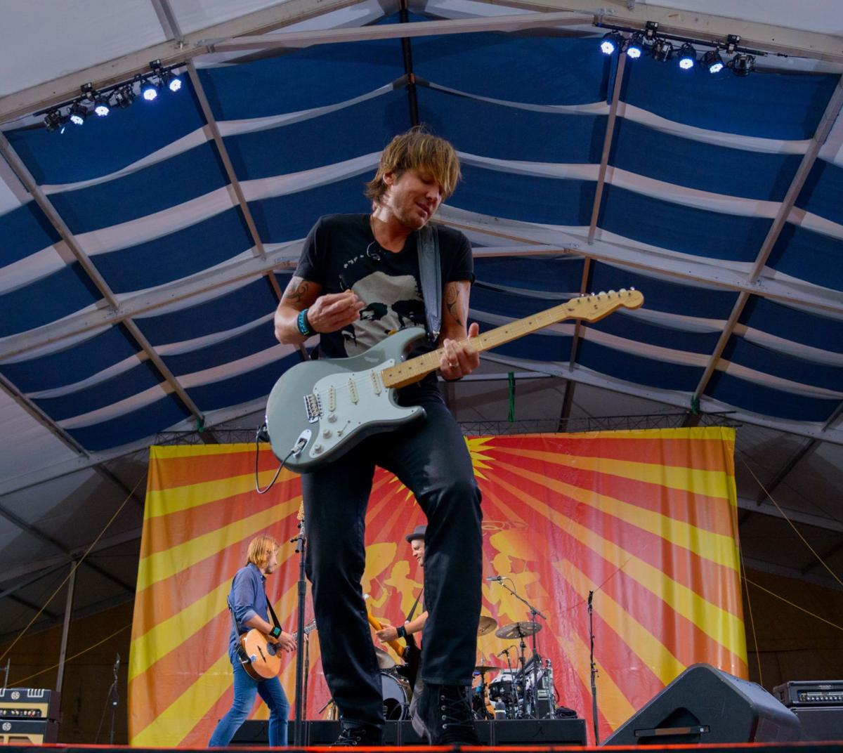Keith Urban Q&A: The Country Star On His Jazz Fest Rain