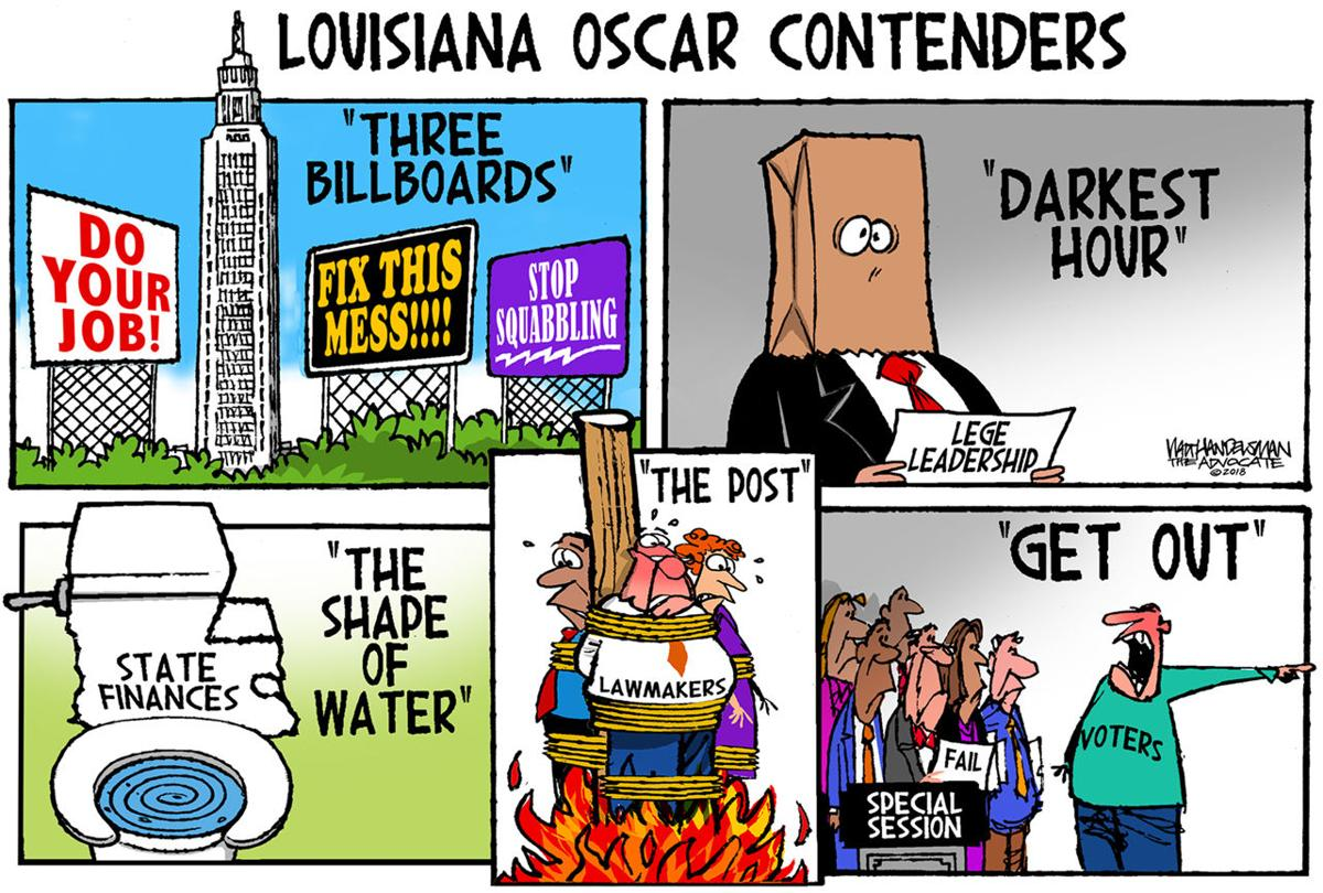 Walt Handelsman: Louisiana Oscar Contenders