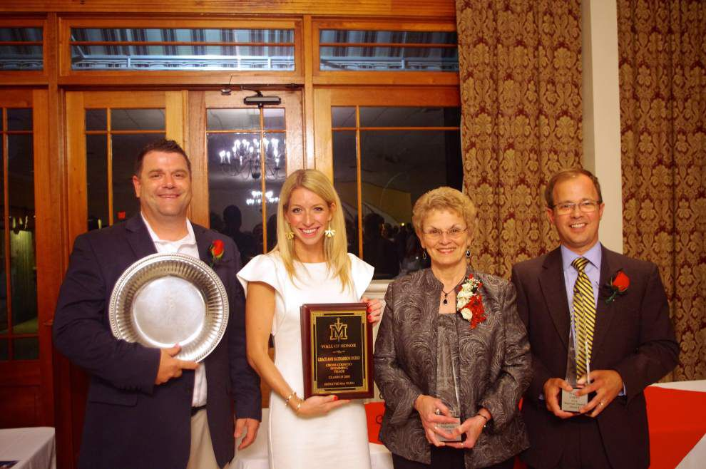 St. Michael holds Warrior awards _lowres