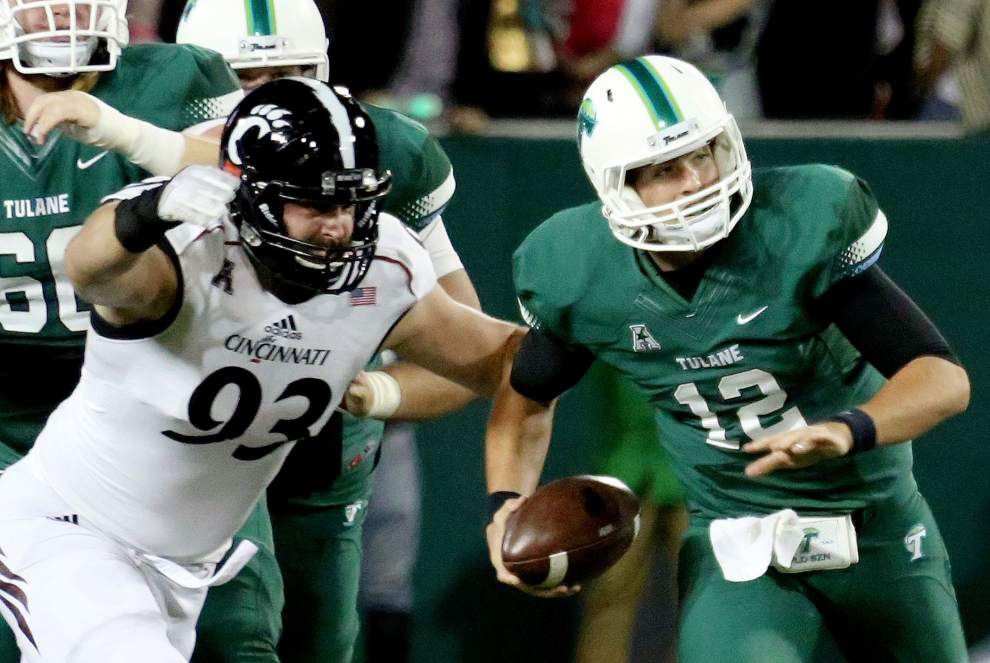 Tulane gets a fright on Halloween with a 38-14 home loss to Cincinnati _lowres