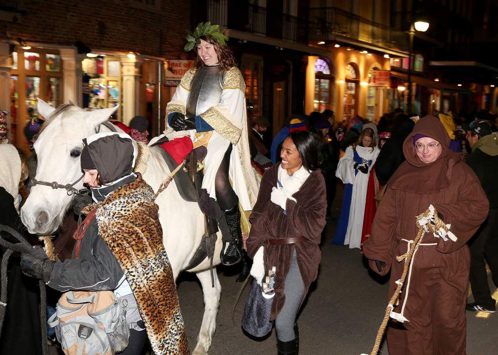 Krewe of Joan of Arc marches with a mission in New Orleans Jan. 6 _lowres