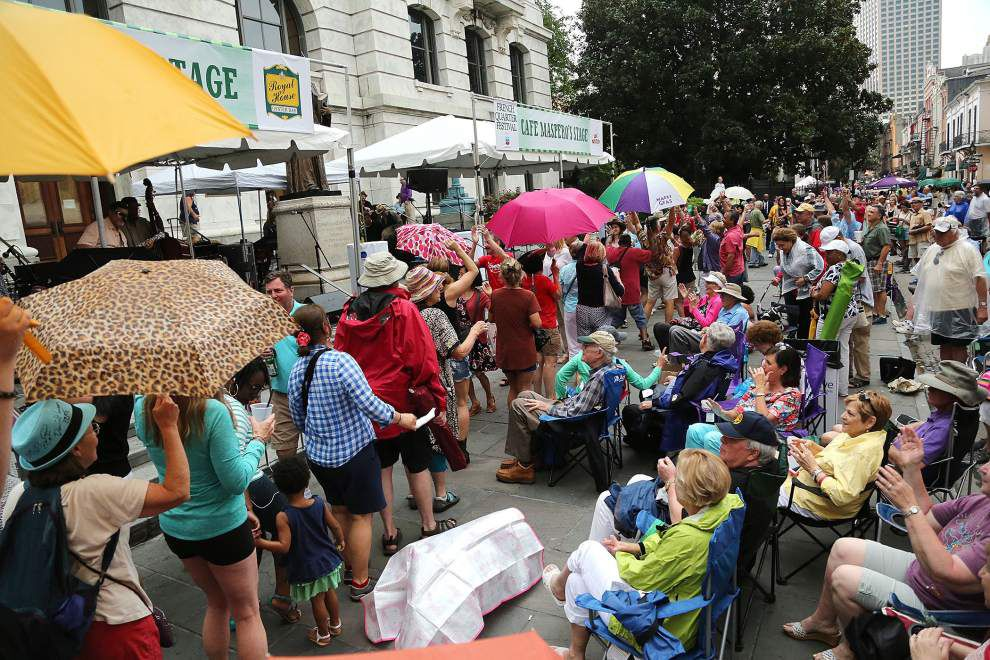 Photos: Rains washed the sun but not the fun at the 2015 French Quarter Festival _lowres