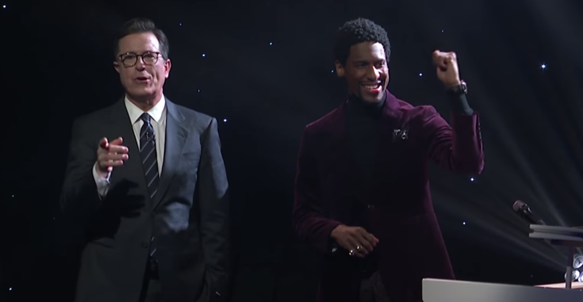 WATCH: Jon Batiste performs \'Winter Wonderland\' on The Late Show ...